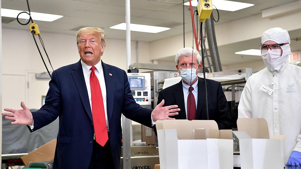 Trump incrementa su seguridad por miedo a contagiarse de coronavirus