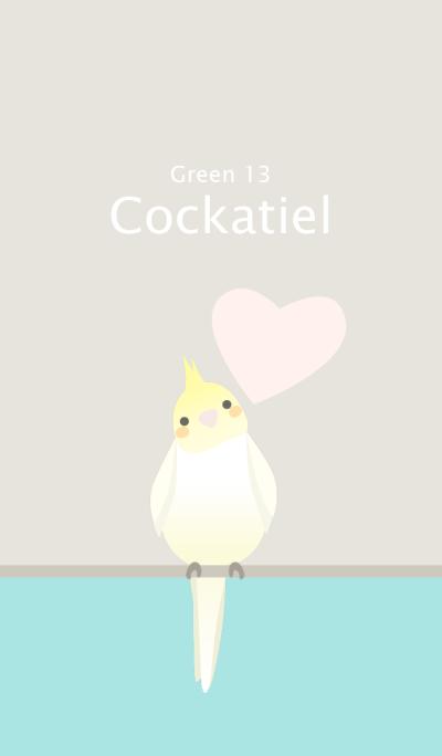 Cockatiel/Green 13