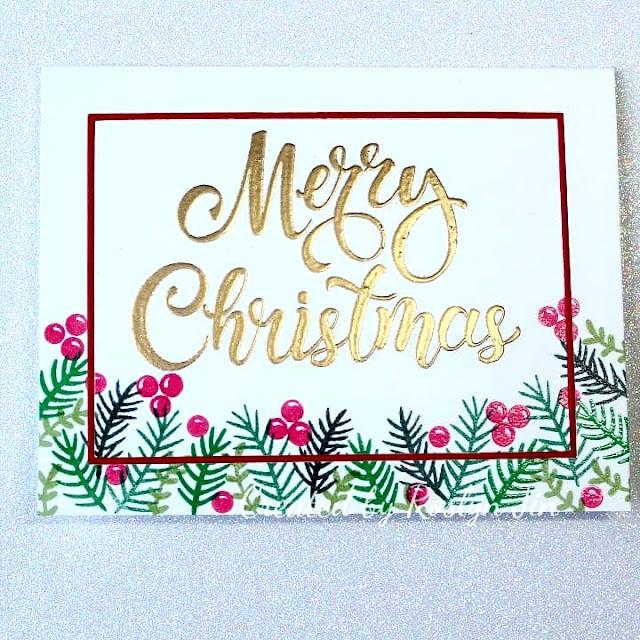 Sunny Studio Stamps: Season's Greetings Customer Card by Roslyn Jin