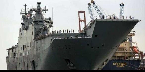 Ada Apa Kapal Perang AS, Jepang dan Australia Merapat di Priok