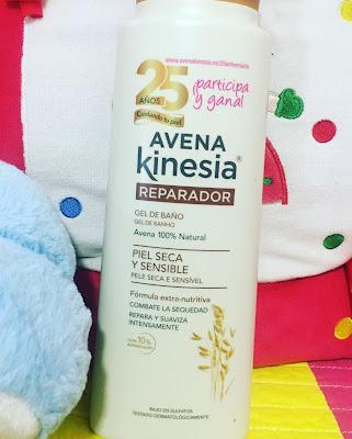 avena-kinesia-reparador-gel-de-baño-piel seca y sensible