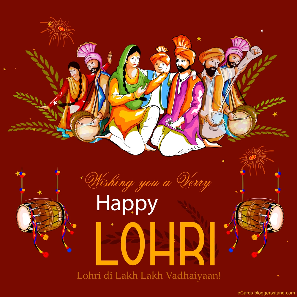 Happy lohri 2021 Wishes, messages, images, wallpapers HD download, Pictures, Quotes, Status