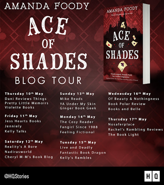 "Blog Tour & Review: ""Ace of Shades"" by Amanda Foody"