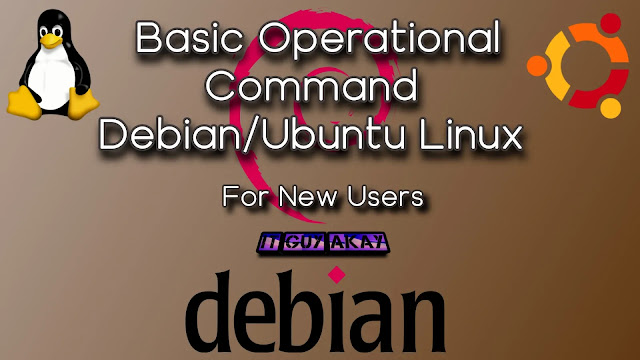 basic operation commands in Ubuntu Debian Linux