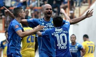 Persib vs Borneo FC Akan Jadi Debut Sergio Van Dijk di Liga 1