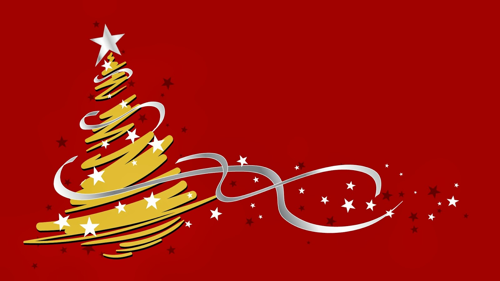 Imagenes Hilandy: Fondo De Pantalla Navidad Arbol Amarillo