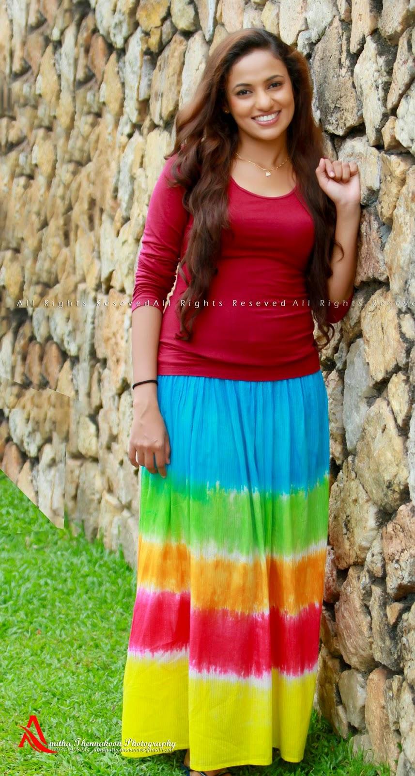 Udari Warnakulasooriyas latest photo shoot ~ Sri Lankan Stars