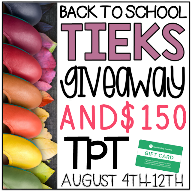 Tieks and TpT Back to School Giveaway