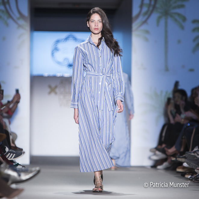 Evi Grintela at Athens Fashion Week - resort 2017 - The shirt dress