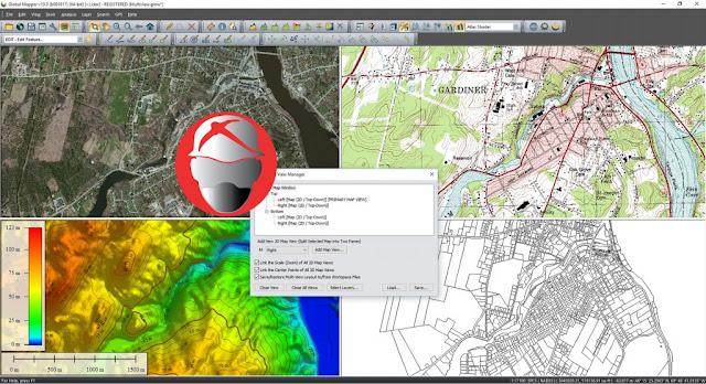 Global Mapper v19.0.x86 Free Download Full Version