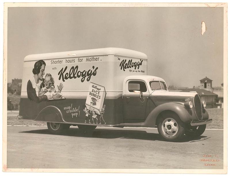 Historic Promotional Vehicles  Kellogg's Truck