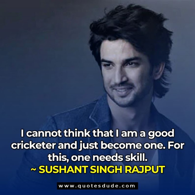sushant singh rajput best quotes, quotes by sushant singh rajput, sushant singh rajput quotes chichore,