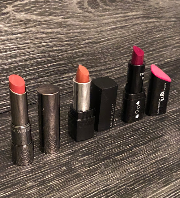 Happy National Lipstick Day! Lise Watier, Marcelle and Annabelle Lipsticks