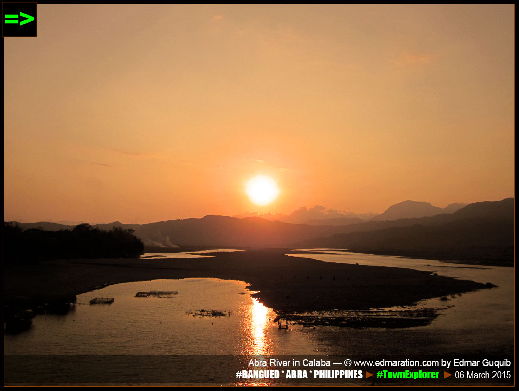 ABRA RIVER SUNSET