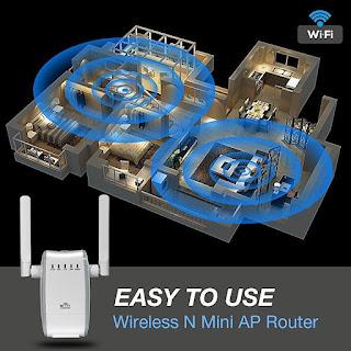 ripetitore wifi amplificatore 300mbps andowl u5