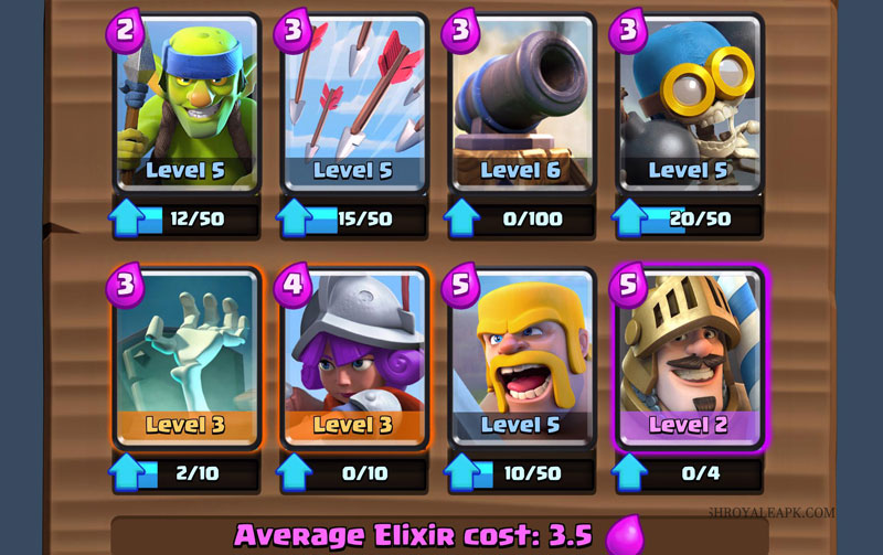 Best Clash Royale Decks, Best Arena 5 Deck, Arena 5 Deck