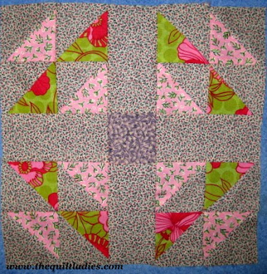 Handy Andy Quilt Pattern Block Tutorial