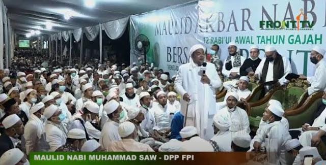 Habib Rizieq: Kalau Agama Tak Boleh Atur Negara, Mau Diatur Pakai PKI, Atheis?