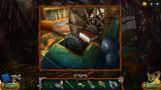 шестеренки смазываем салом в игре затерянные земли 4 скиталец