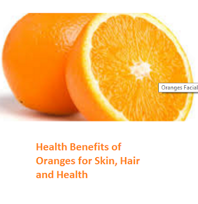 Health Benefits of Oranges for Skin, Hair and Health