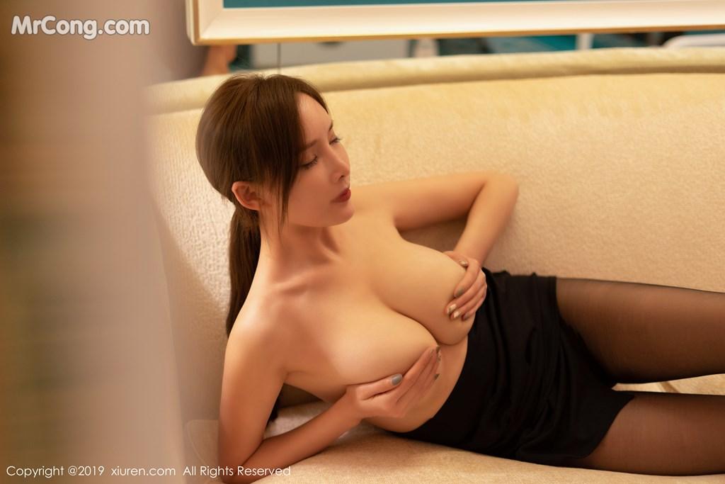 Image XIUREN-Vol.1534-Tu-Fei-Yuan-Ai-Cuo-Qiong-MrCong.com-008 in post XIUREN Vol.1534: 奶瓶土肥圆矮挫丑黑穷 (66 ảnh)