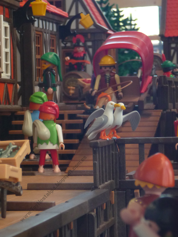 Diorama Playmobil Medieval Caballeros Knights