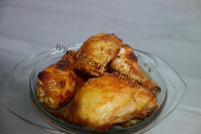Udka z kurczaka w glazurze
