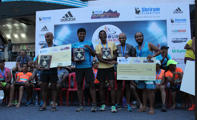Photo 2 - Winners of 36 Hour Stadium Run (Men)