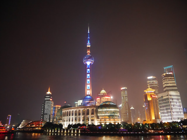 Shanghai China Lights at Night