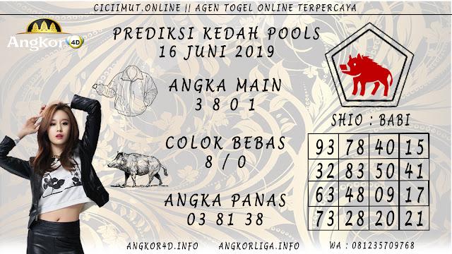 PREDIKSI KEDAH POOLS 16 JUNI 2019