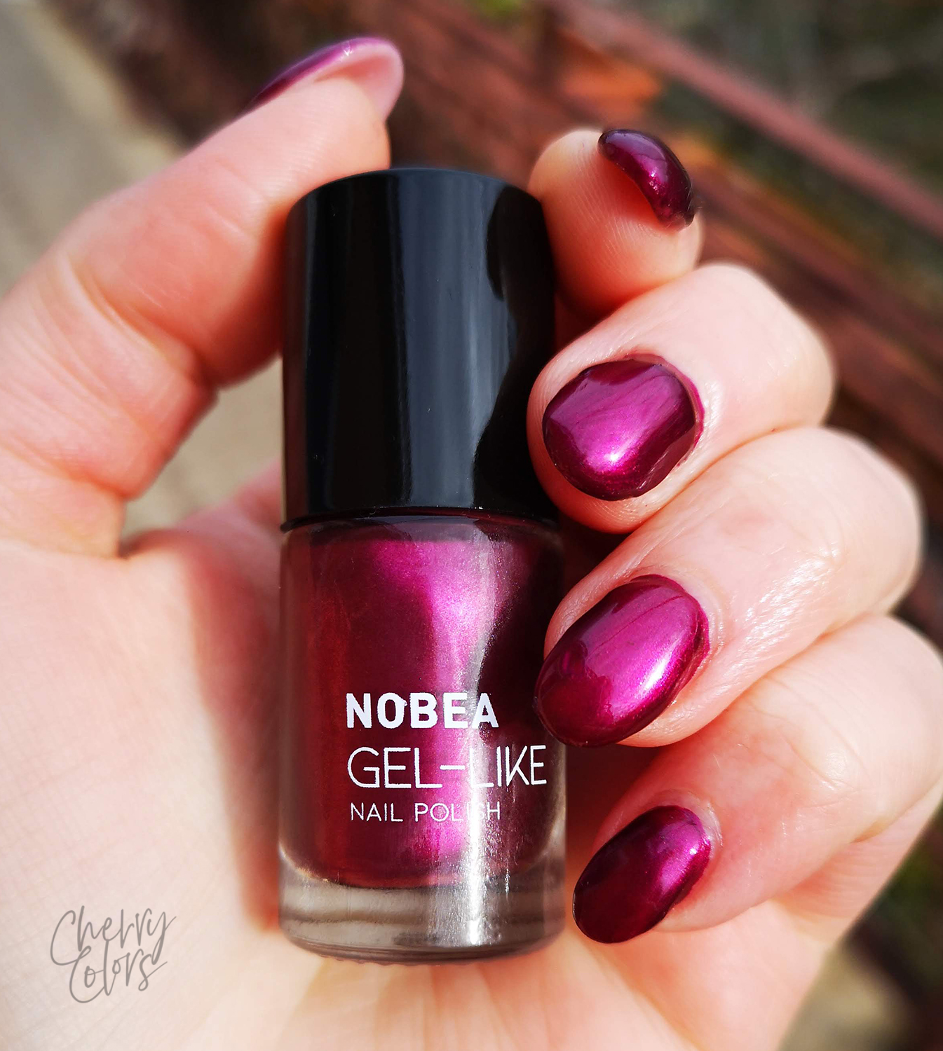Nobea Day to day Rusty Jewels Nail Polish Set - royal purple