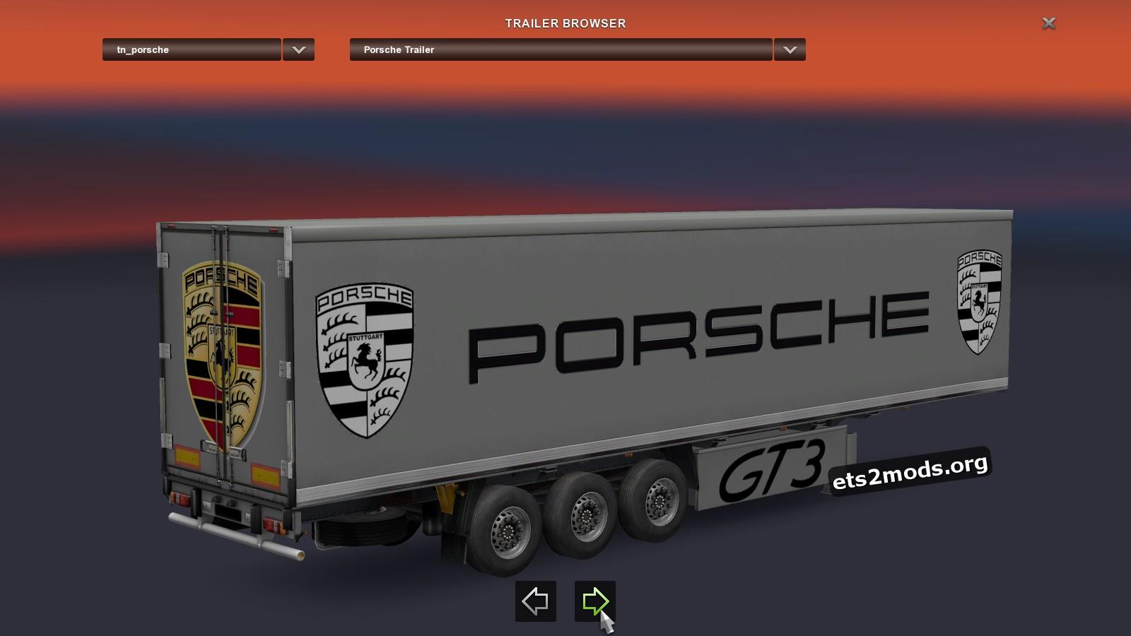 Trailer - Porsche