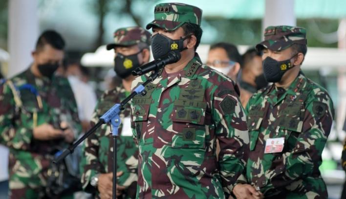 Pangdam Hasanuddin, Dampingi Panglima TNI dan Kapolri Cek Petugas Tracer TNI-POLRI