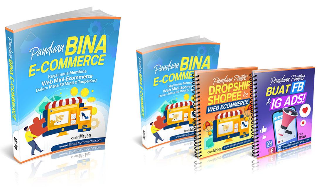 Panduan Bina Web E-Commerce Tanpa Kos