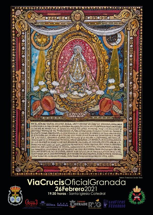 Hoy Viernes Vía Crucis Oficial 2021 de Granada