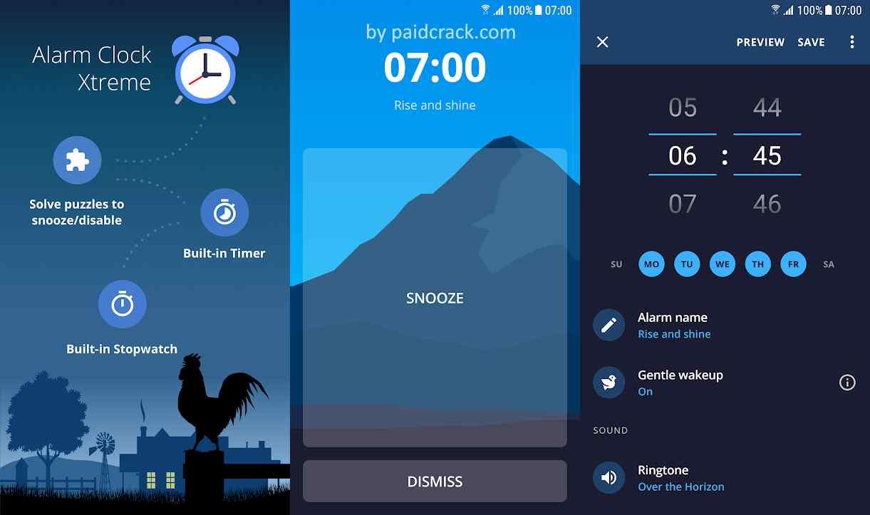 Alarm Clock Xtreme Pro Mod Apk 6.16.0
