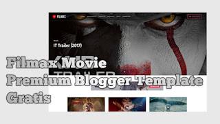 Filmax Movie - Premium Blogger Template Gratis