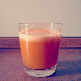 Sok z selera i marchewki