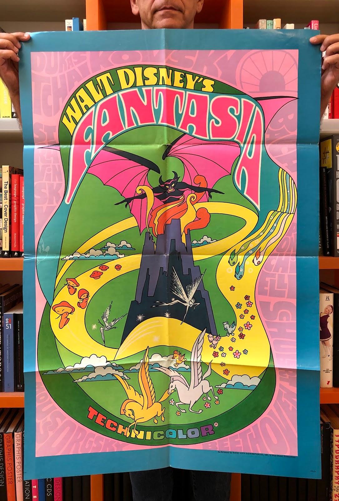 Mirko Ilic Blog Walt Disney S Fantasia Re Release Poster