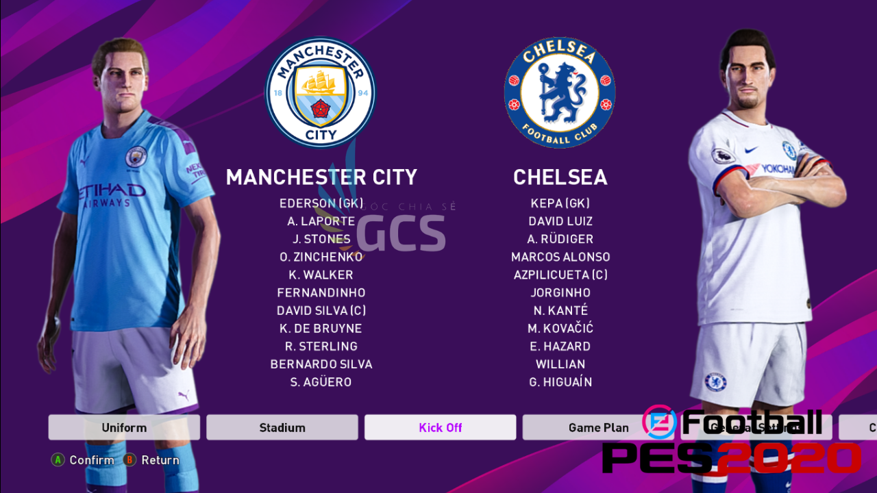 PES2020 Demo - Mini patch add EPL + Miniface - www.infogatevn.com