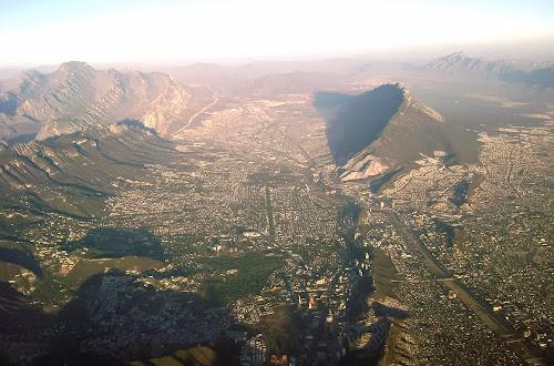 Vista aérea de Monterrey – México