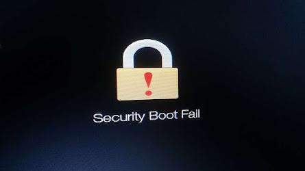 cara mematikan secure boot acer