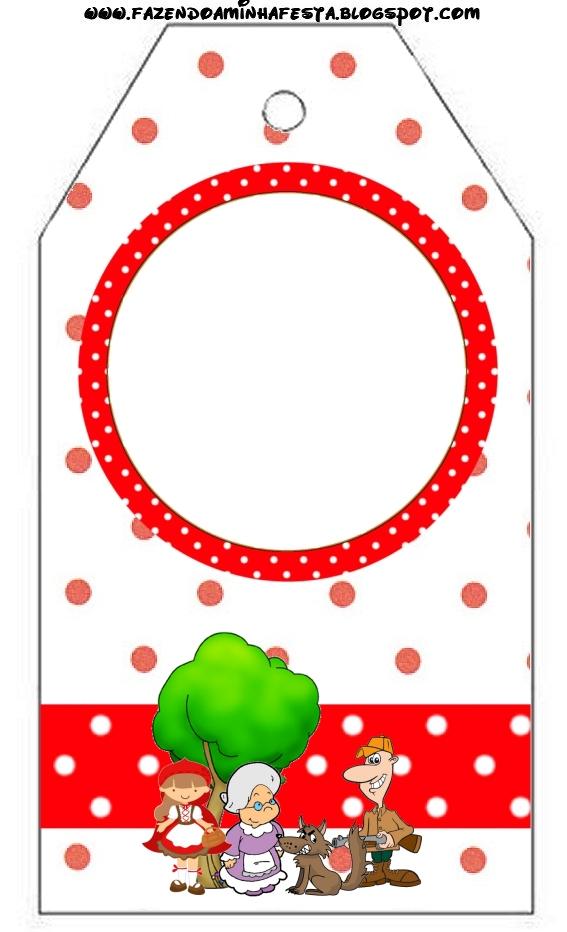 Fazendo A Minha Festa Chapeuzinho Vermelho Kit Completo Com