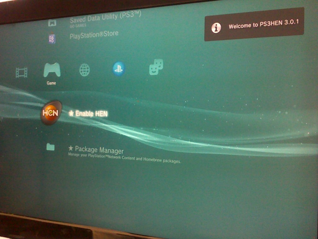 Cara Install PS3 HEN
