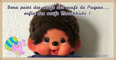kiki monchhichi april fool 1er avril oeufs pâques chocolat diy easter