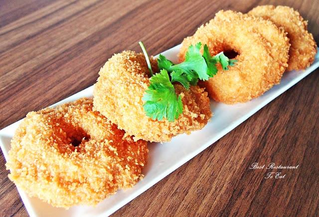 Pim's Thai Seafood Restaurant Bukit Tinggi Fried Donuts Prawns