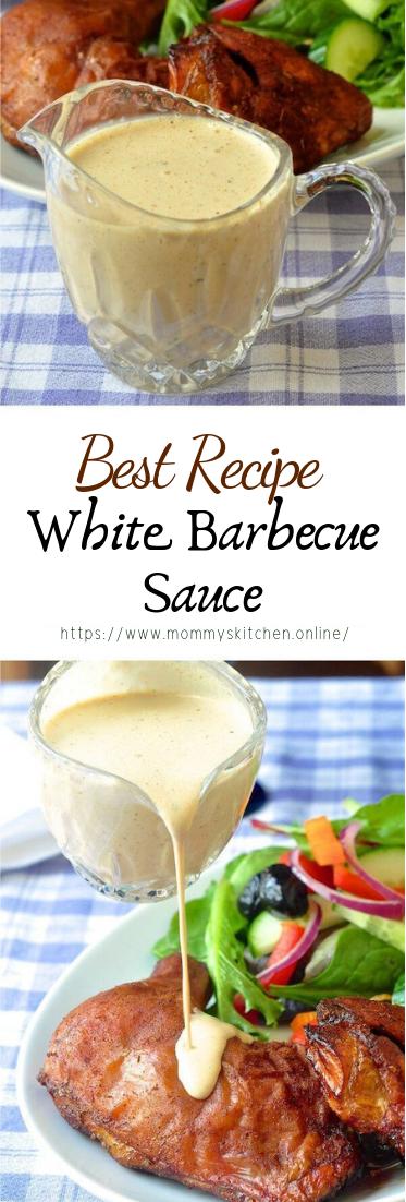 White Barbecue Sauce #dinnerrecipe #food #amazingrecipe
