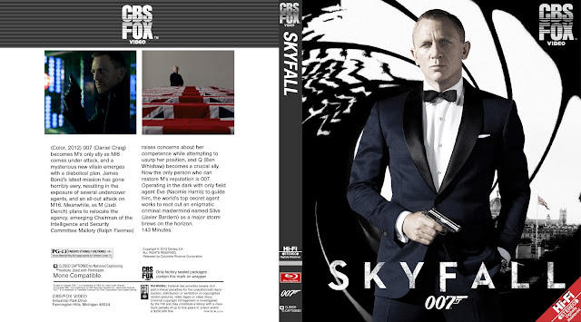 Skyfall Bluray Cover