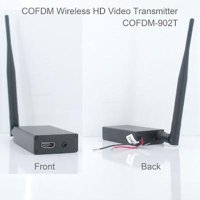 COFDM av io transmitter