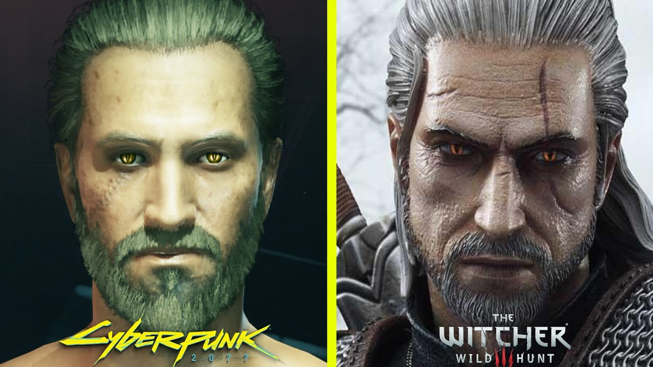 Cyberpunk 2077 guide. How to create Geralt?